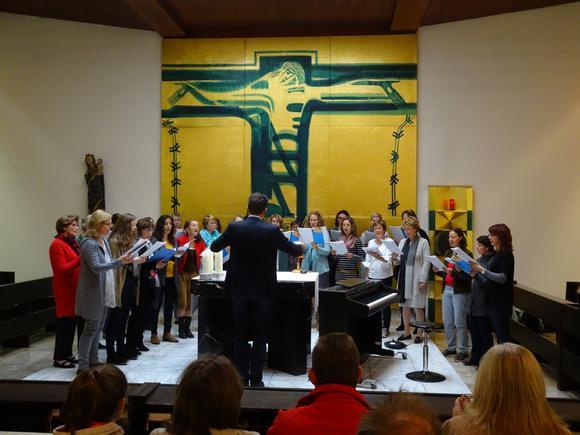 Abschlusskonzert frauenKlang der Vokalakademie Niederörsterreich in der Kapelle Bildungshaus St. Hippolyt