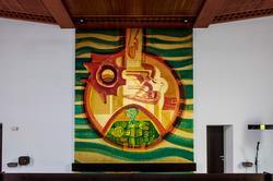Bildtafel Eingangswand Schöpfung Hiphaus