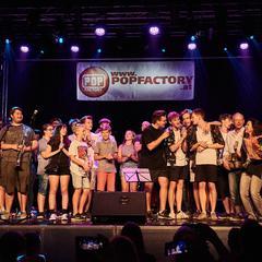 Alle MusikerInnen und ReferentInnen der Popfactory 2019