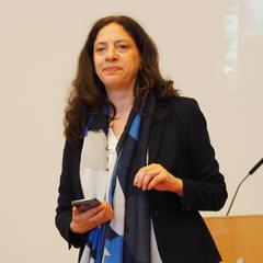Maren Berka bei ihren Ausführungen