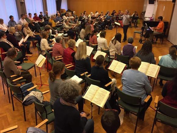 Bachchor Wien - Probe im hiphaus