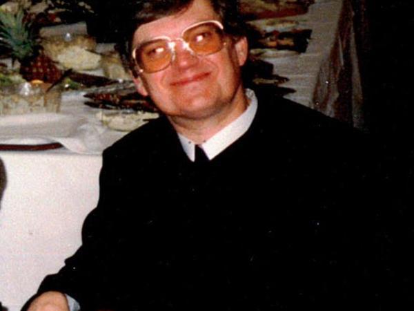 Dr. Johannes Gartner bei einer Feier im Bildungshaus