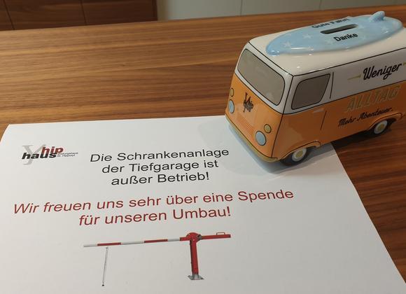 Spar-Bus für Tiefgarage