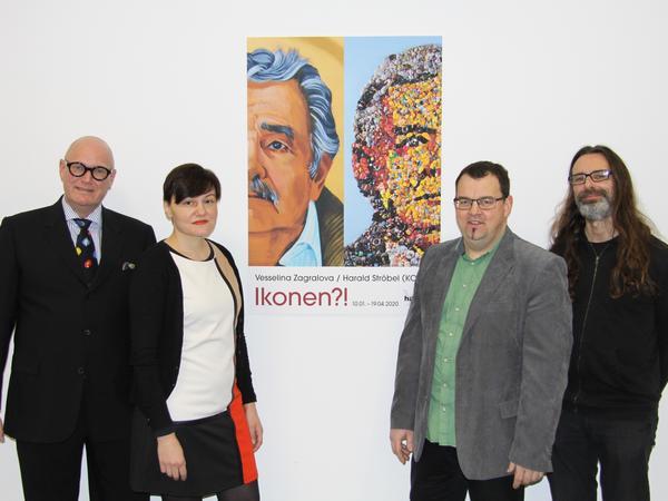 Harald Ströbel (KONZT), Vesselina Zagralova, Franz Moser, Matthias Lackenberger