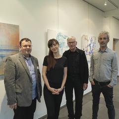 Franz Moser, Karin Ziegelwanger, Dr. P. Jeremia Eisenbauer, Helge Waldherr