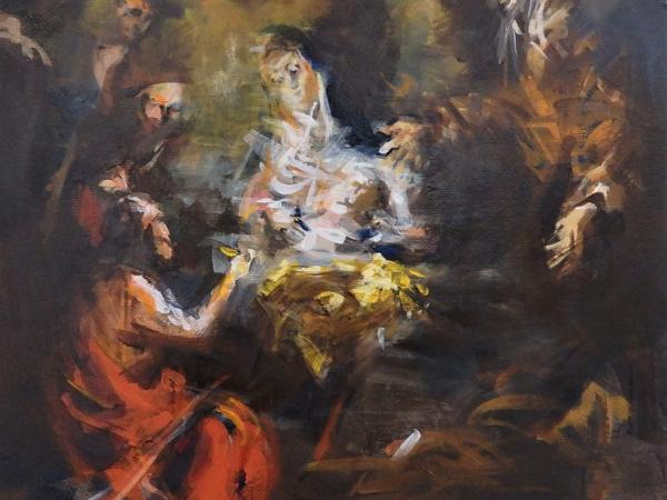 Raphael Bergmann, Verehrung von Mutter und Kind