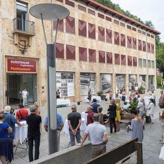 Eröffnung in der Fußgängerzone von Vaduz c) Daniel Schwenderer